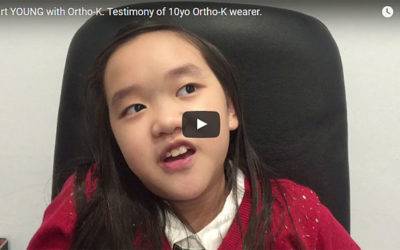 Why young children are good candidates for Ortho-K?